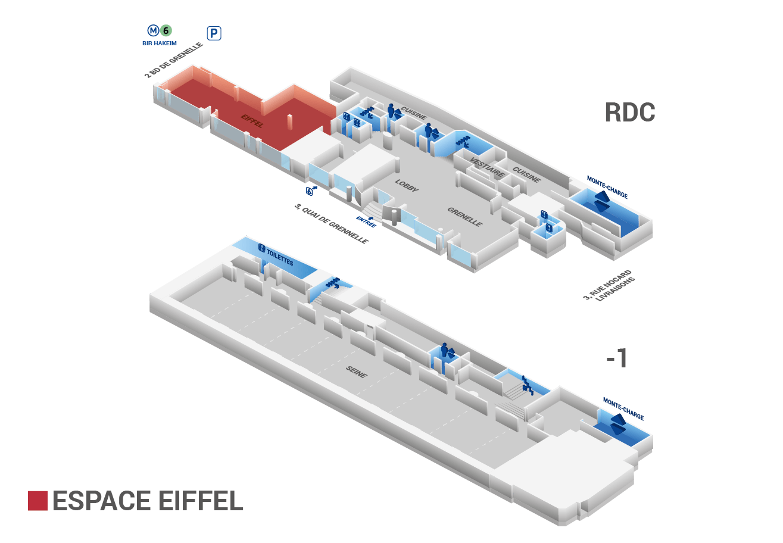 Plan Espace Eiffel
