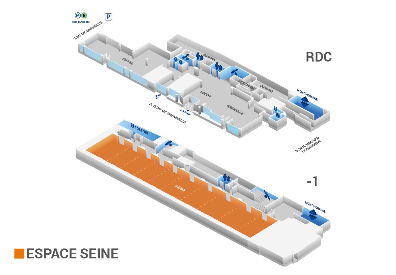Plan Espace Seine