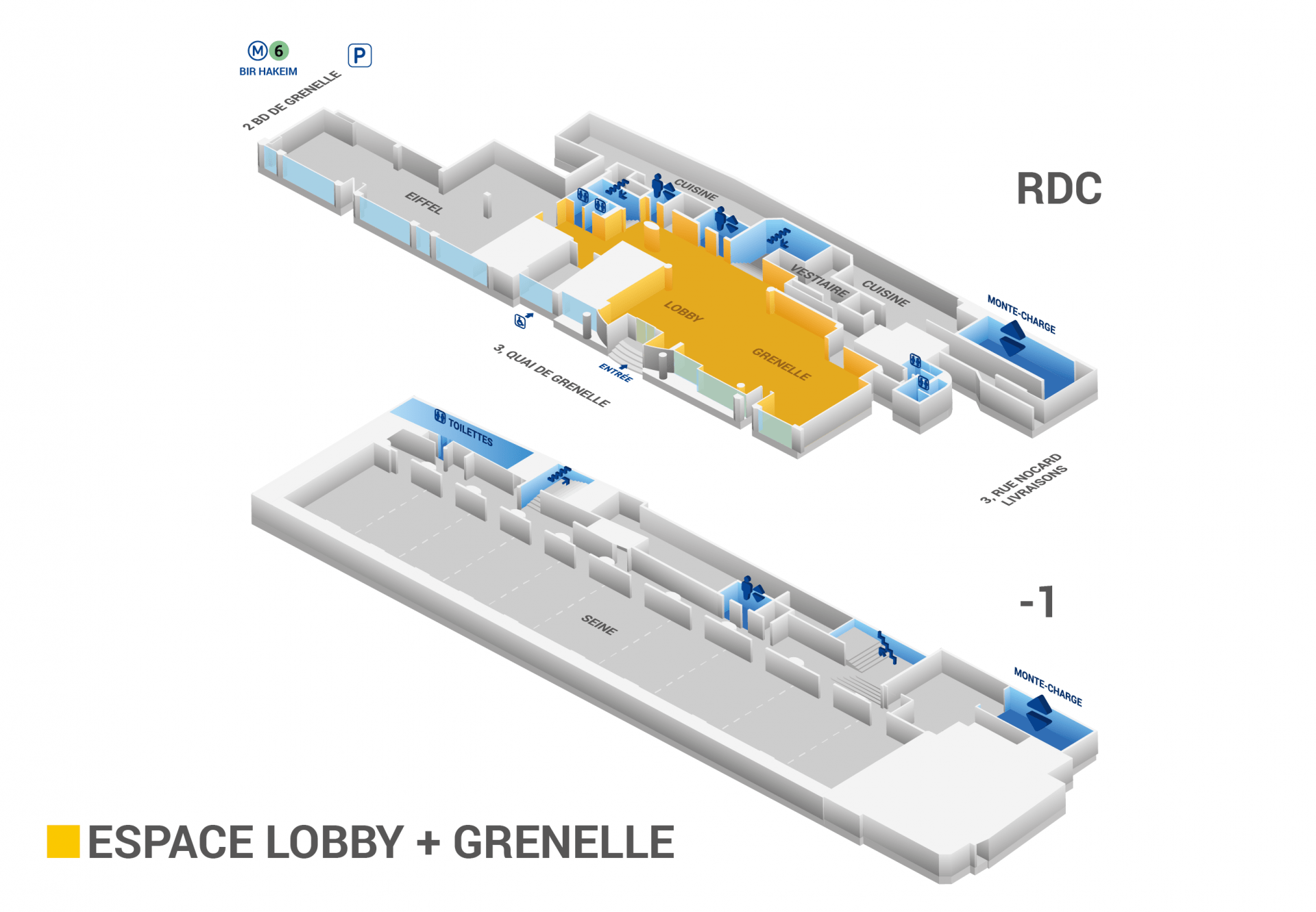 Plan Lobby & Grenelle